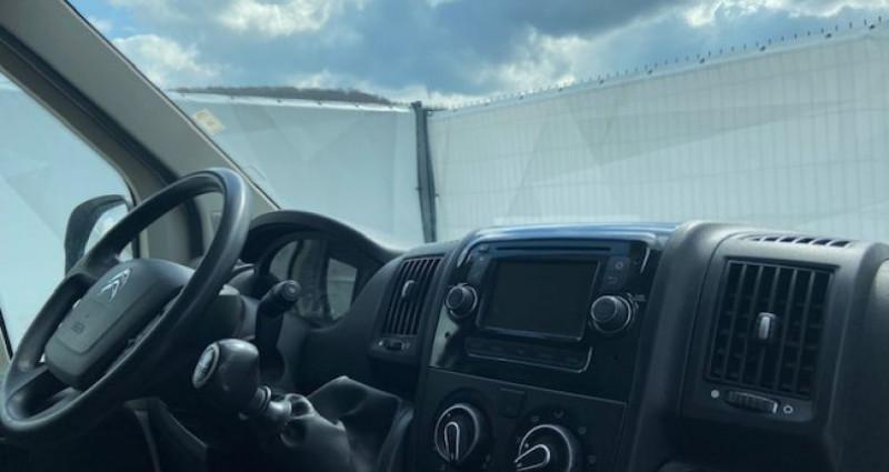 Citroen Jumper Citroën FT 33L3H3 CLUB HDI 130 Blanc occasion à Tarcenay - photo n°3