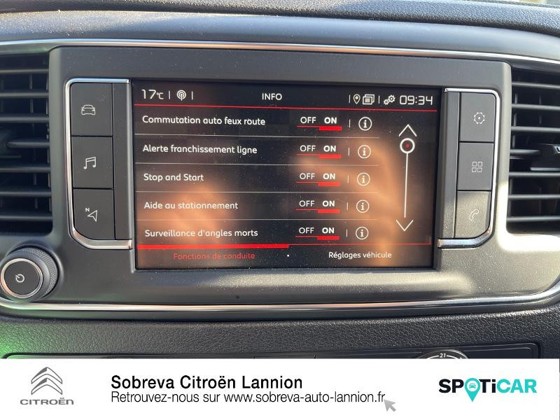 Citroen Jumpy FOURGON M BLUEHDI 120 S&S EAT8 DRIVER Gris occasion à LANNION - photo n°17
