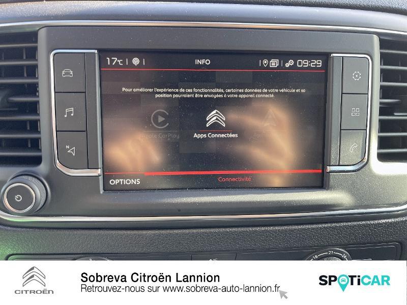 Citroen Jumpy FOURGON M BLUEHDI 120 S&S EAT8 DRIVER Gris occasion à LANNION - photo n°14