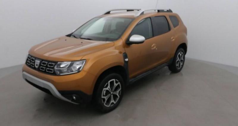 Dacia Duster 1.0 TCe 100 PRESTIGE 4X2 Orange occasion à CHANAS - photo n°2
