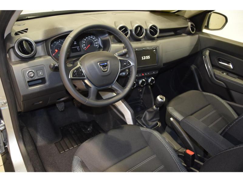 Dacia Duster 1.5 Blue dCi - 115 4x4 E6U  II Prestige Gris occasion à Riorges - photo n°8