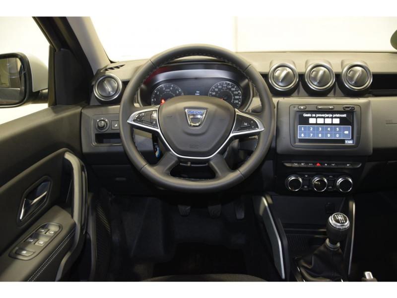 Dacia Duster 1.5 Blue dCi - 115 4x4 E6U  II Prestige Gris occasion à Riorges - photo n°10