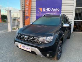 Dacia Duster 1.5 BLUEDCI 115 PRESTIGE 4X2 CAMERA CLIM AUTO Noir occasion à Biganos - photo n°1