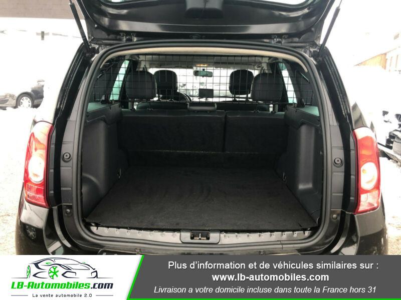 Dacia Duster 1.5 DCI 110 4x4 Noir occasion à Beaupuy - photo n°13
