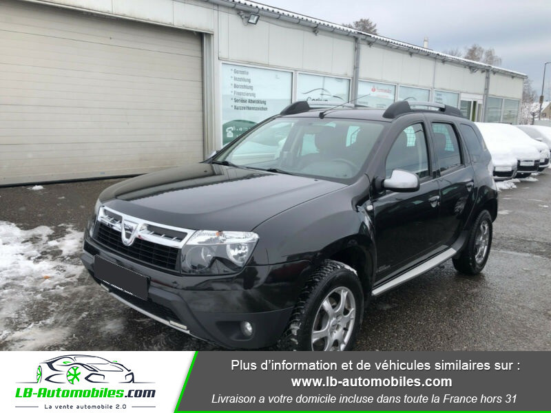 Dacia Duster 1.5 DCI 110 4x4 Noir occasion à Beaupuy