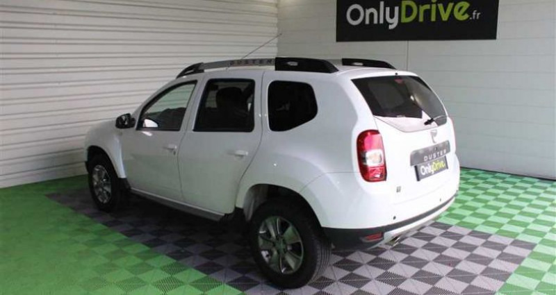 Dacia Duster 1.5 dCi 110 EDC 4x2 Lauréate Plus Blanc occasion à SAINT FULGENT - photo n°3