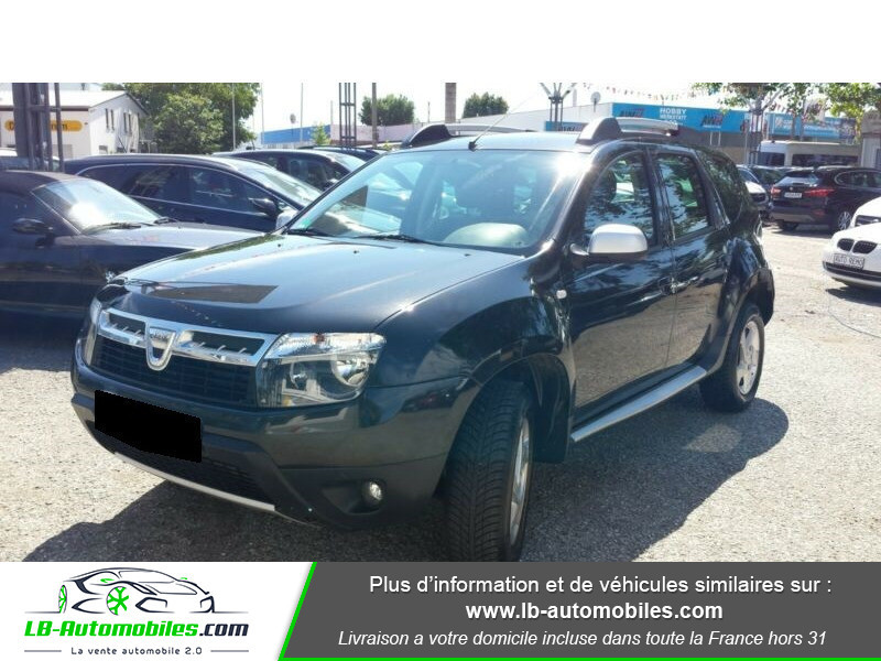 Dacia Duster 1.5 dCi 110 Noir occasion à Beaupuy