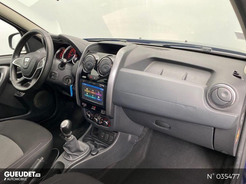 Dacia Duster 1.5 dCi 110ch Black Touch 2017 4X2 Bleu occasion à Abbeville - photo n°4