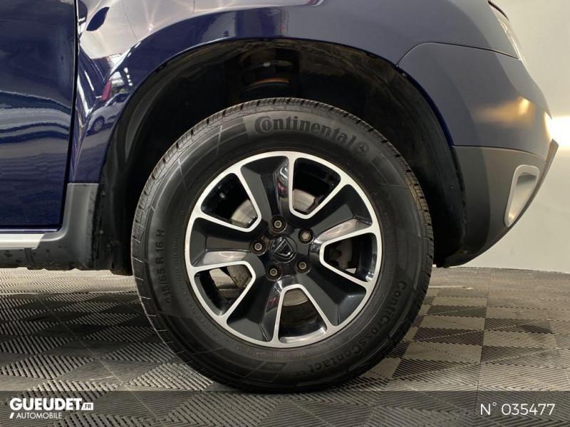 Dacia Duster 1.5 dCi 110ch Black Touch 2017 4X2 Bleu occasion à Abbeville - photo n°9