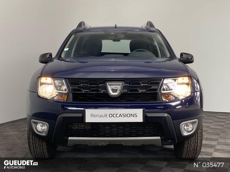 Dacia Duster 1.5 dCi 110ch Black Touch 2017 4X2 Bleu occasion à Abbeville - photo n°2
