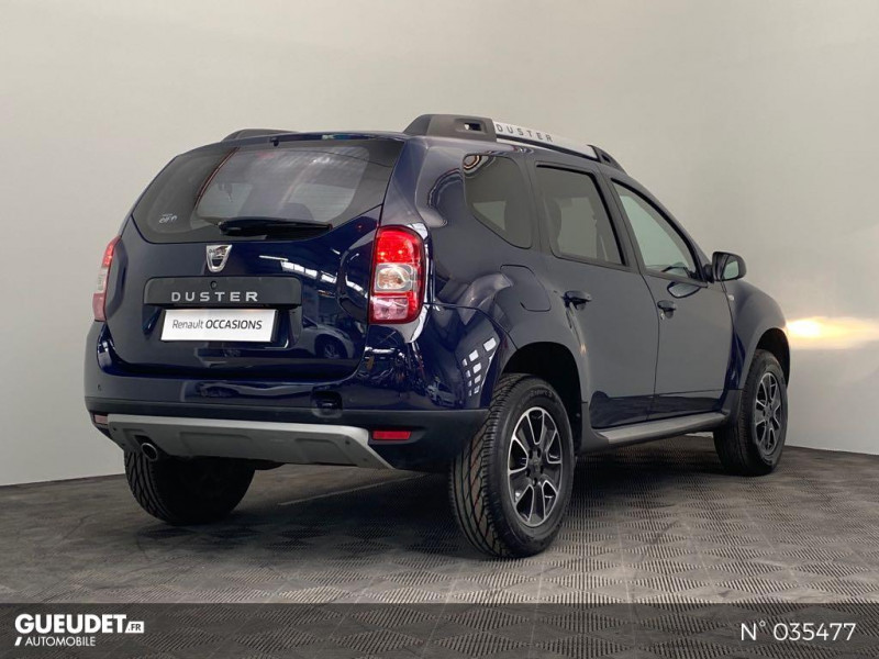 Dacia Duster 1.5 dCi 110ch Black Touch 2017 4X2 Bleu occasion à Abbeville - photo n°6
