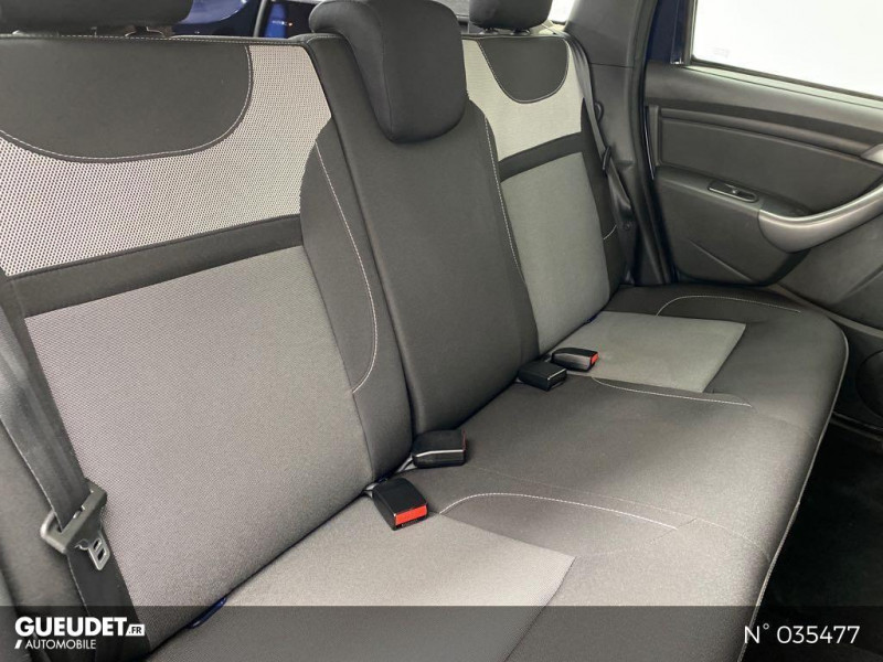 Dacia Duster 1.5 dCi 110ch Black Touch 2017 4X2 Bleu occasion à Abbeville - photo n°5