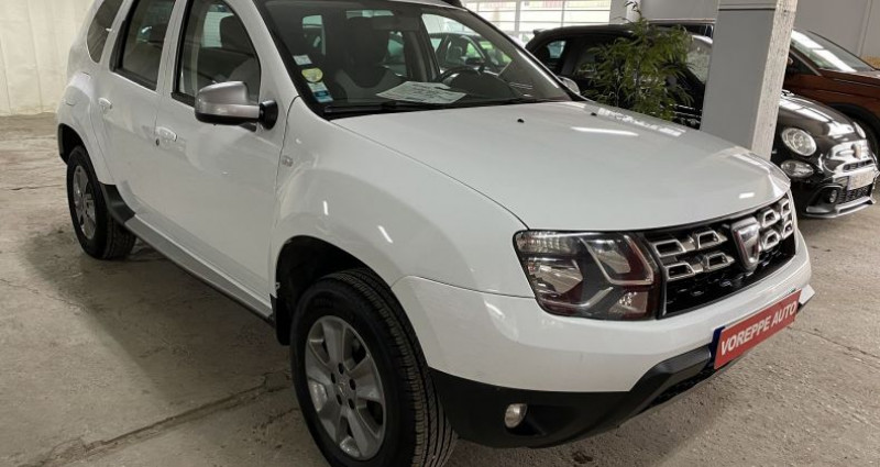Dacia Duster 1.5 DCI 110CH PRESTIGE 4X2 EURO6 Blanc occasion à VOREPPE - photo n°3