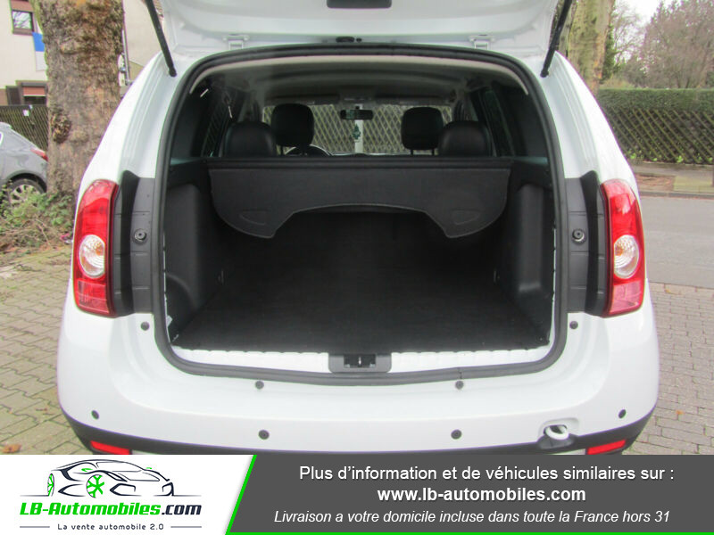 Dacia Duster 1.6 16v 105 4x4 / Prestige Blanc occasion à Beaupuy - photo n°9