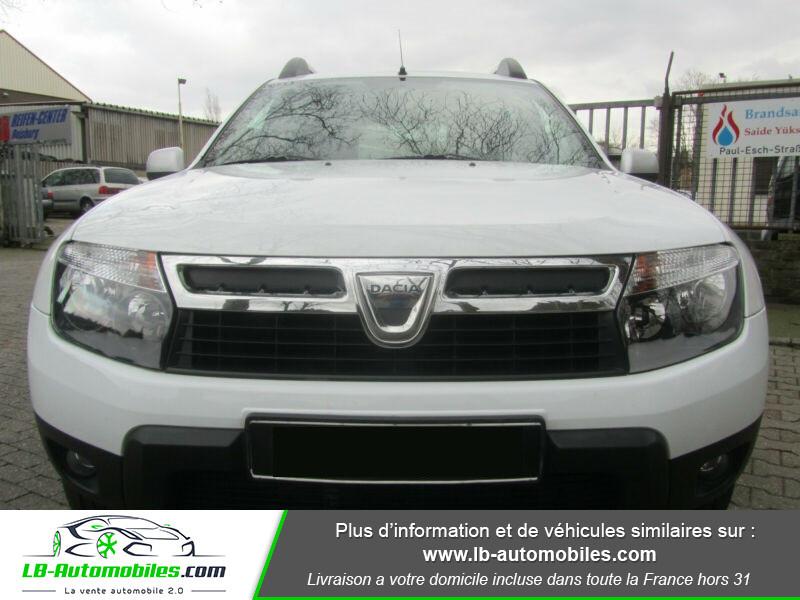 Dacia Duster 1.6 16v 105 4x4 / Prestige Blanc occasion à Beaupuy - photo n°11