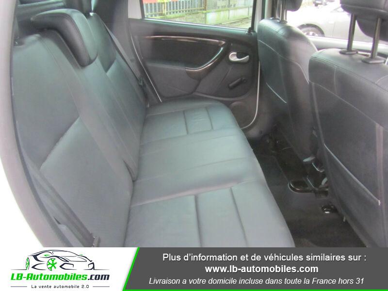 Dacia Duster 1.6 16v 105 4x4 / Prestige Blanc occasion à Beaupuy - photo n°6