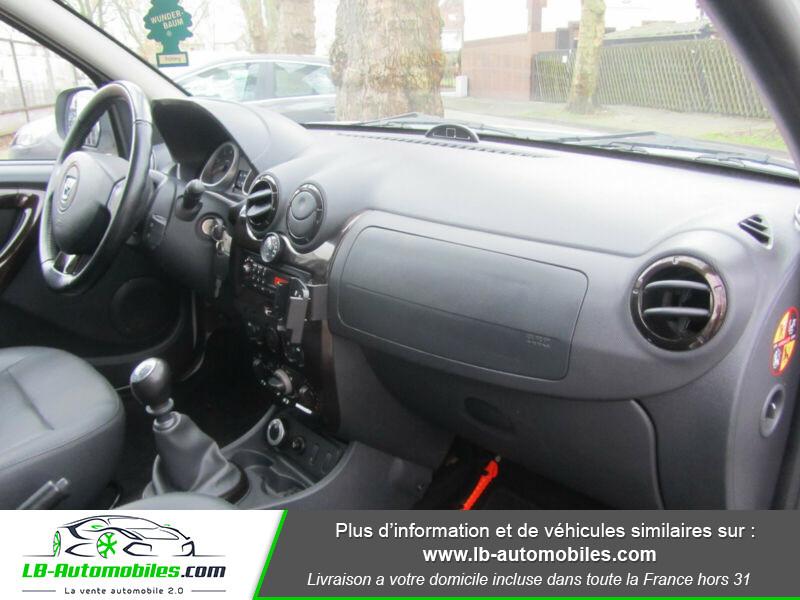 Dacia Duster 1.6 16v 105 4x4 / Prestige Blanc occasion à Beaupuy - photo n°4