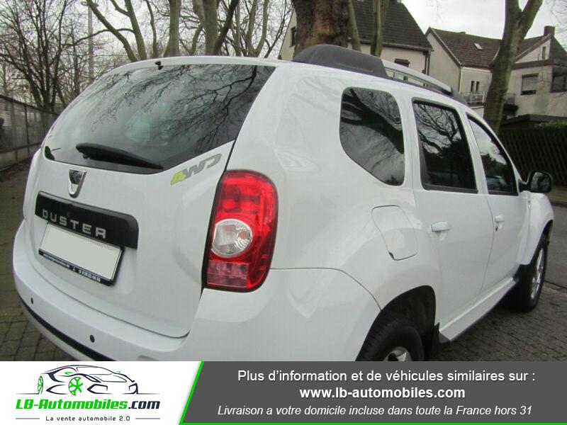 Dacia Duster 1.6 16v 105 4x4 / Prestige Blanc occasion à Beaupuy - photo n°3