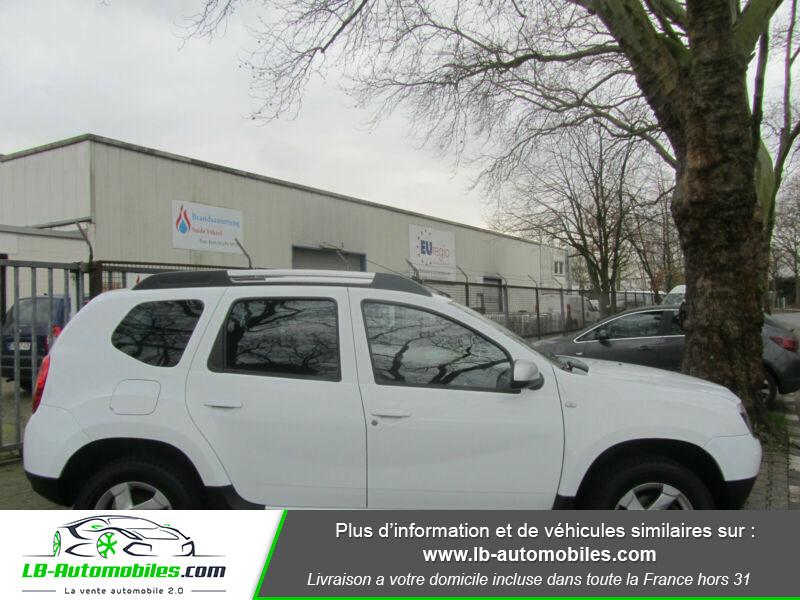 Dacia Duster 1.6 16v 105 4x4 / Prestige Blanc occasion à Beaupuy - photo n°13