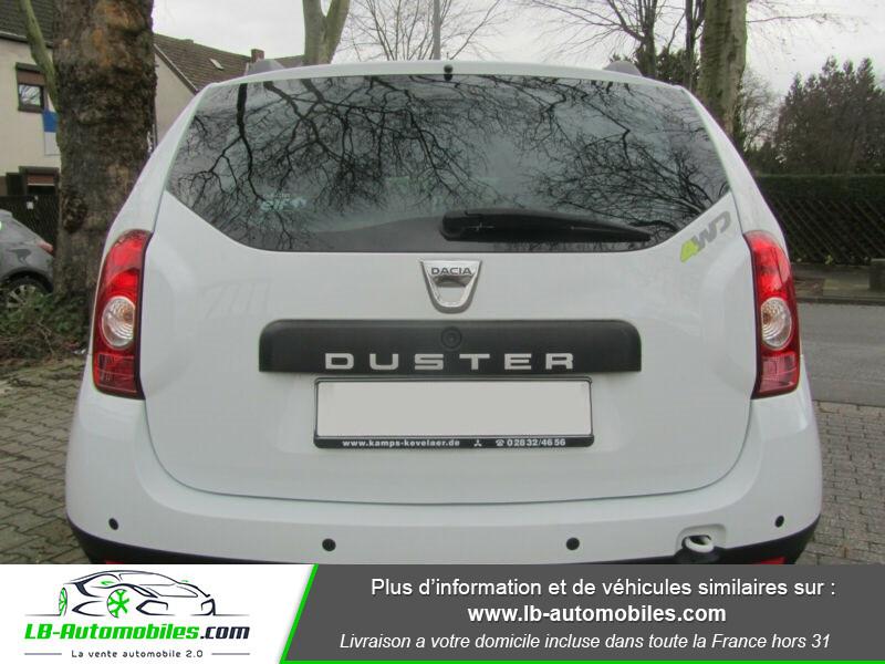 Dacia Duster 1.6 16v 105 4x4 / Prestige Blanc occasion à Beaupuy - photo n°10