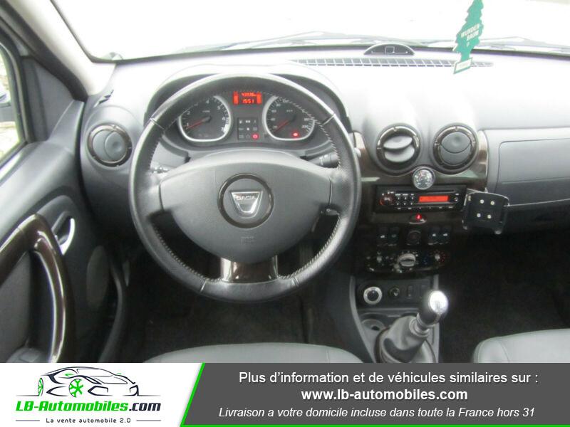 Dacia Duster 1.6 16v 105 4x4 / Prestige Blanc occasion à Beaupuy - photo n°2