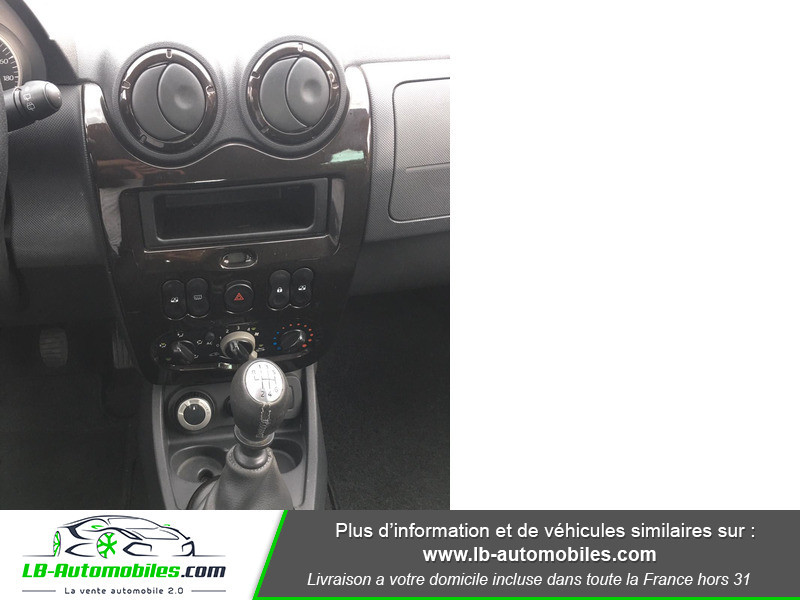 Dacia Duster 1.6 16v Noir occasion à Beaupuy - photo n°6