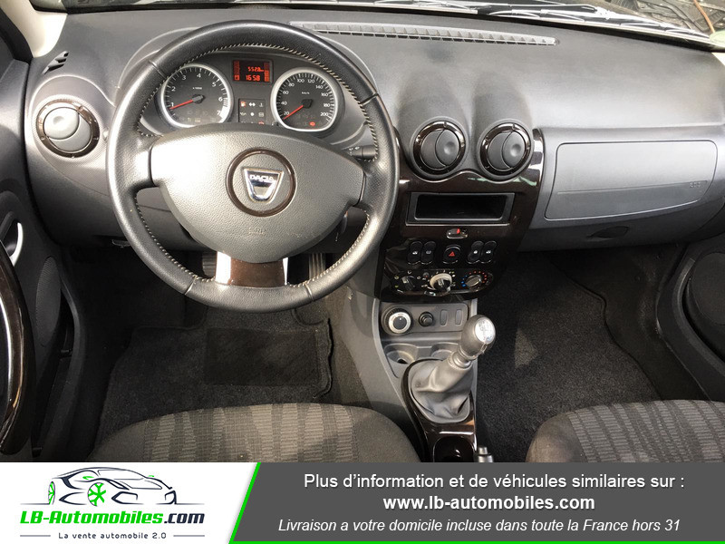 Dacia Duster 1.6 16v Noir occasion à Beaupuy - photo n°2