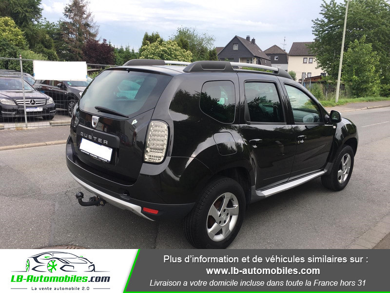 Dacia Duster 1.6 16v Noir occasion à Beaupuy - photo n°3