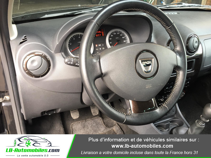 Dacia Duster 1.6 16v Noir occasion à Beaupuy - photo n°9