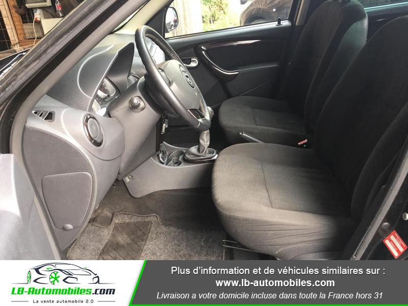 Dacia Duster 1.6 16v Noir occasion à Beaupuy - photo n°8