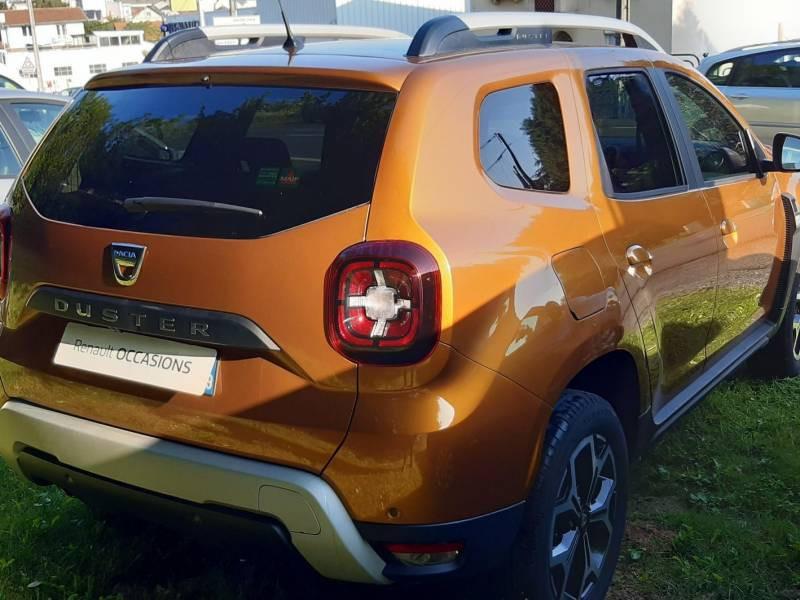Dacia Duster Blue dCi 115 4x2 Prestige Orange occasion à Lannemezan - photo n°2