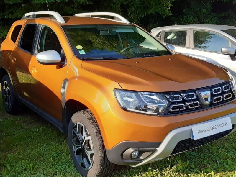 Dacia Duster Blue dCi 115 4x2 Prestige Orange occasion à Lannemezan