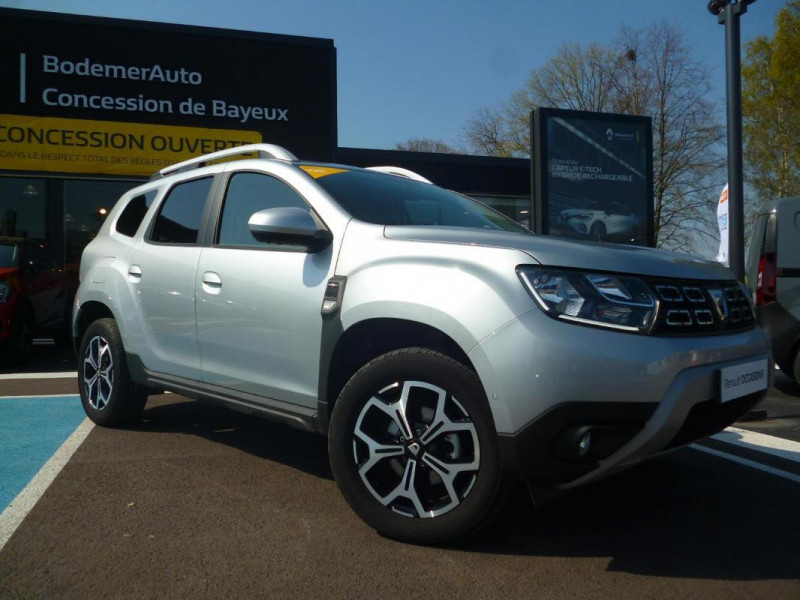 Dacia Duster Blue dCi 115 4x4 Prestige Gris occasion à BAYEUX - photo n°2