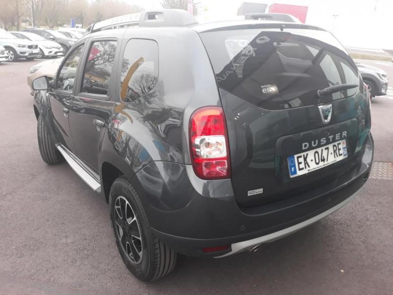 Dacia Duster dCi 110 4x2 Black Touch Gris occasion à COUTANCES - photo n°2