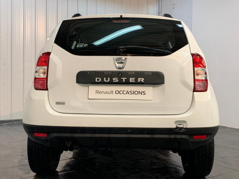 Dacia Duster dCi 110 4x2 Silver Line Blanc occasion à CONCARNEAU - photo n°11