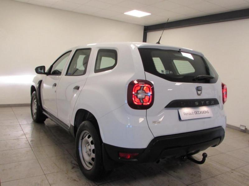 Dacia Duster dCi 90 4x2 Blanc occasion à VALFRAMBERT - photo n°3