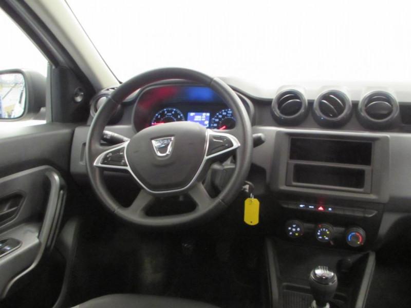 Dacia Duster dCi 90 4x2 Blanc occasion à VALFRAMBERT - photo n°9
