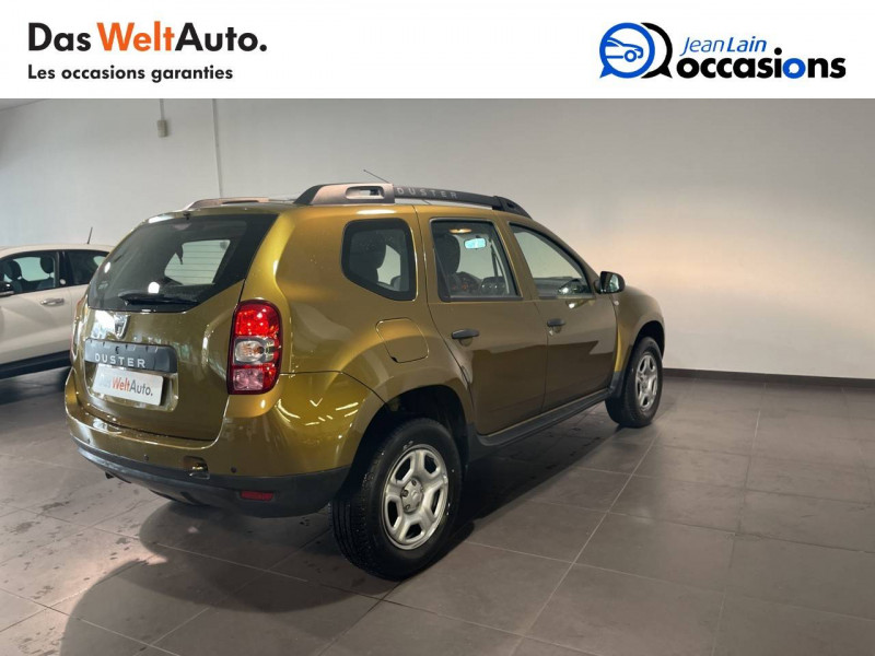 Dacia Duster Duster dCi 110 4x2 Silver Line 2017 5p Vert occasion à Seynod - photo n°5