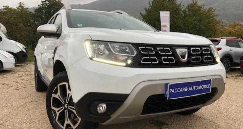 Dacia Duster II 1.5 DCI 115 BLUE PRESTIGE garantie 1 an Blanc occasion à La Buisse