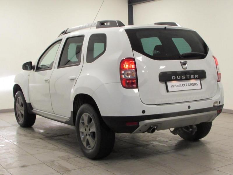 Dacia Duster TCe 125 4x2 Prestige Blanc occasion à VALFRAMBERT - photo n°3
