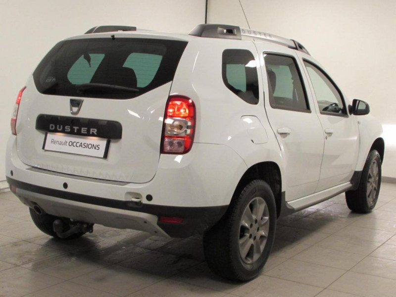 Dacia Duster TCe 125 4x2 Prestige Blanc occasion à VALFRAMBERT - photo n°4
