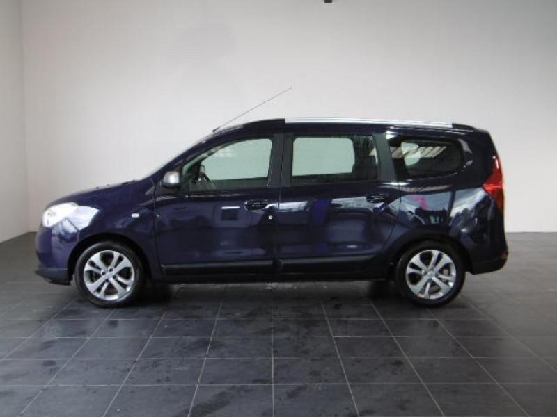 Dacia Lodgy 1.2 tce 115 5 places sl 10 ans Bleu occasion à Azé - photo n°3