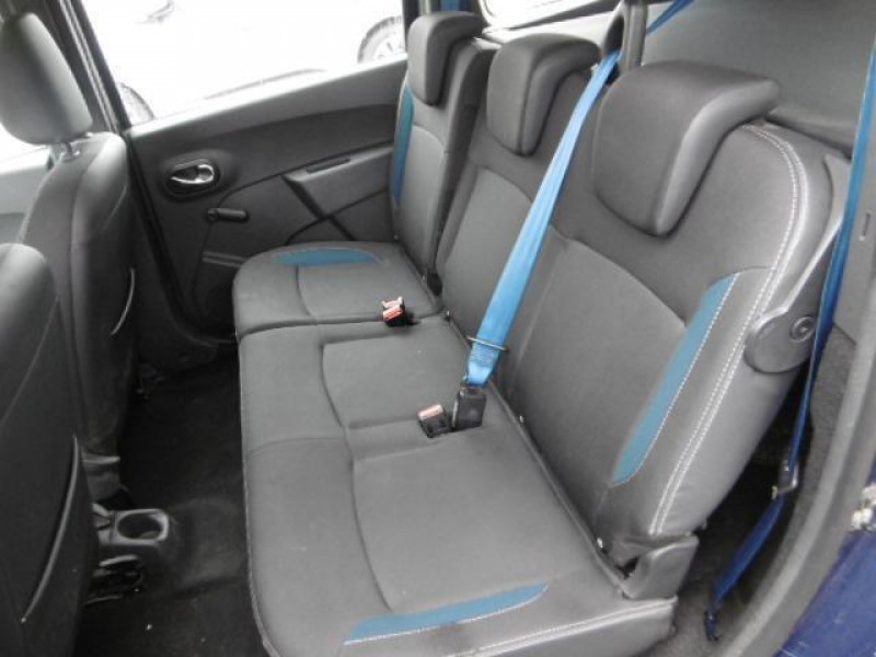 Dacia Lodgy 1.2 tce 115 5 places sl 10 ans Bleu occasion à Azé - photo n°5
