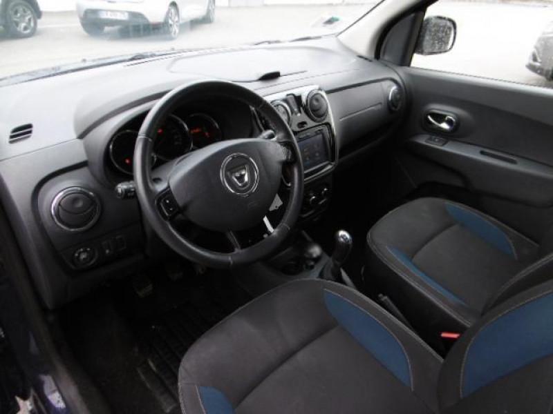 Dacia Lodgy 1.2 tce 115 5 places sl 10 ans Bleu occasion à Azé - photo n°4