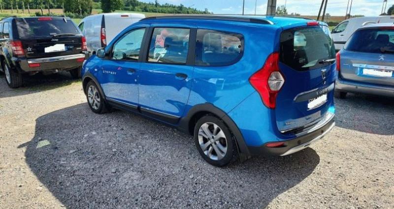 Dacia Lodgy 1.2 TCe 115 Euro6 Stepway 7 places Bleu occasion à RIGNIEUX LE FRANC - photo n°3