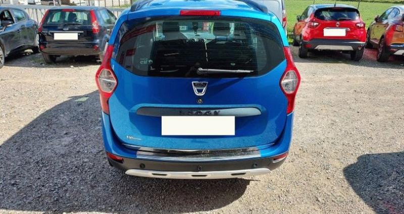 Dacia Lodgy 1.2 TCe 115 Euro6 Stepway 7 places Bleu occasion à RIGNIEUX LE FRANC - photo n°4