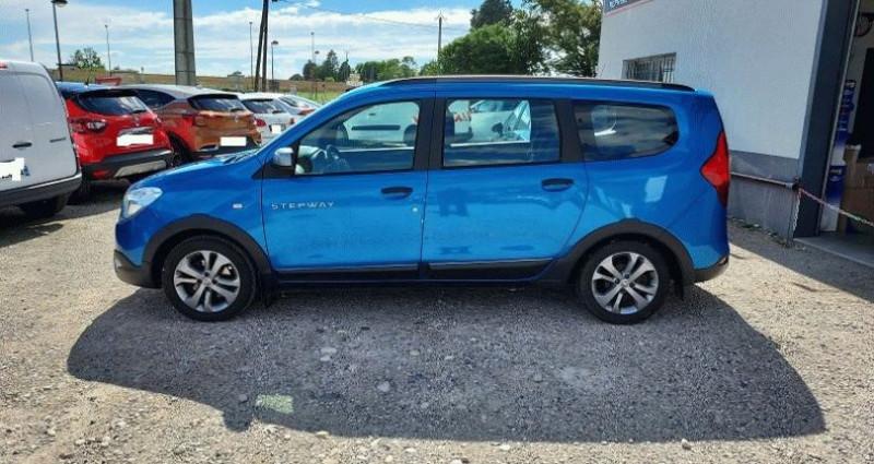 Dacia Lodgy 1.2 TCe 115 Euro6 Stepway 7 places Bleu occasion à RIGNIEUX LE FRANC - photo n°2