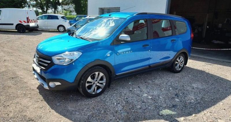 Dacia Lodgy 1.2 TCe 115 Euro6 Stepway 7 places Bleu occasion à RIGNIEUX LE FRANC