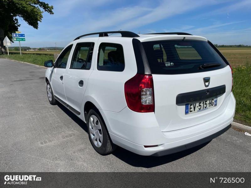 Dacia Logan MCV 1.5 dCi 75ch Silverline Blanc occasion à Crépy-en-Valois - photo n°6