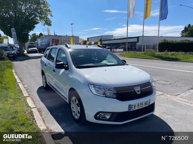 Dacia Logan MCV 1.5 dCi 75ch Silverline Blanc occasion à Crépy-en-Valois